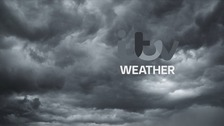 Rather cloudy with a risk of patchy rain this morning