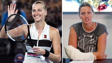 Stab-victim Kvitova 'not really believing' she's in tennis final