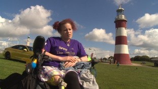 Carla spoke to ITV West Country on Plymouth Hoe in 2015
