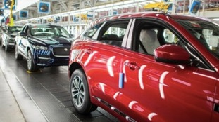 Jaguar Land Rover suspends production for additional week because of potential Brexit disruption