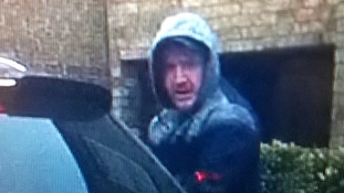 Police want to trace a man in connection with a burglary in Cottenham on Saturday.