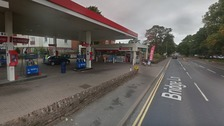 Esso garage on Bridge Lane, Penrith