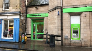 Co-op in Kelso that was held up in an armed robbery