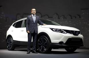 The letter was sent to Nissan chief executive at the time, Carlos Ghosn