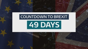 On Friday it will be 49 days before the UK is due to leave the European Union.