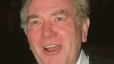 Albert Finney at the Baftas 2001
