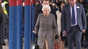 Queen joins rail travellers on King's Lynn train back to London