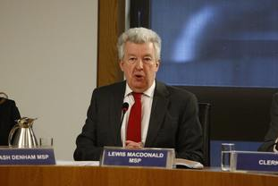 Labour's Lewis Macdonald chairs the committee