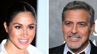 George Clooney says Meghan is being 'pursued and vilified' like Princess Diana