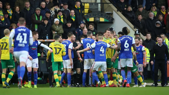 Norwich City and Ipswich Town charged by FA following