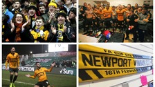 The city of Newport prepares for a fairytale football game