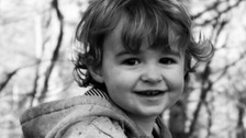 picture of two year old Bram Radcliffe
