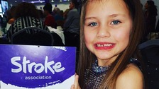 Lottie's inspiring others after surviving a stroke at the age of three