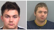 Ashley McGrath (left) and Benjamin Clarke (right) have both been jailed.