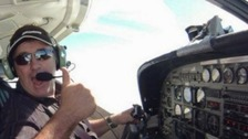 Divers to look for missing pilot David Ibbotson