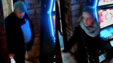 Watch moment brazen thieves swipe bag from distracted Birdlip pub customer