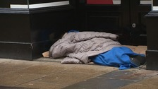 The winter night shelter aims to tackle homelessness in the city.