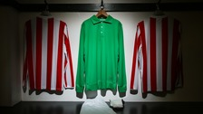 Stoke City reveal special kit in memory of Gordon Banks OBE