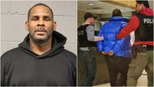 R Kelly hands himself in to face multiple sex abuse charges