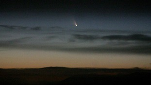 Comet soars over region