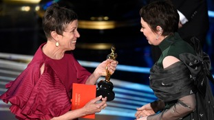 She was presented the award by Frances McDormand.