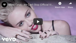 Videos made by popstar Miley Cyrus have often been criticised for being soft porn.