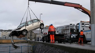 Car plunges onto rocks in Portstewart