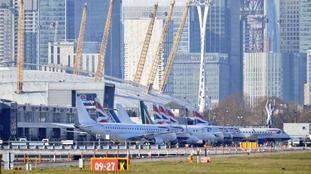 London City Airport says flights are operating as normal.