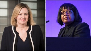 Amber Rudd apologises for calling Diane Abbott a 'coloured woman' in gaffe live on radio