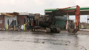 Digger used in another ATM theft in Dungannon