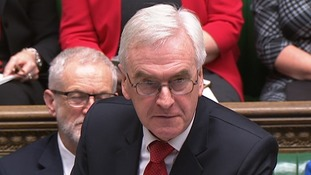John McDonnell said downgrading forecasts were a