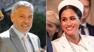 George Clooney was speaking to Good Morning Britain about his friend Meghan Markle.