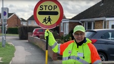 Carol Hayes has been a School Crossing Patroller for 40 years
