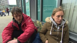 Nikki and Mark have been sleeping rough in Plymouth for five months