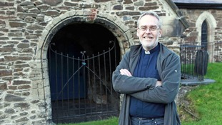 Reverend David Parry says the chimes keep him awake at night