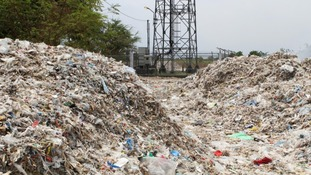 A glimpse at just how much of our recycled waste is being shipped to East Asia.