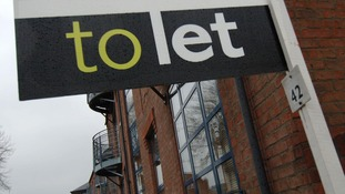 Residential property in York with 'to let' sign showing