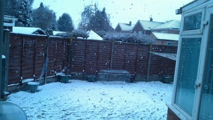 David Dixey sent this picture from Colchester