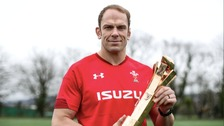 Alun Wyn Jones wins Six Nations player of the championship