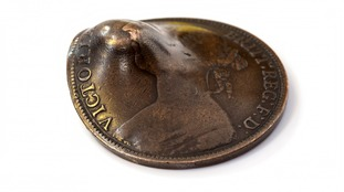 The coin was brought by Mr Nigel Trickett