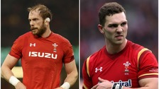 Alun Wyn Jones and George North sidelined with injuries