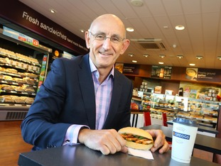 Mr Whiteside says the vegan option helped his company step away from an old-fashioned image.