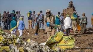 Interpol sent staff to respond after 157 people from 35 countries were killed when an Ethiopian Airlines plane went down.