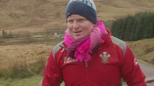 Brecon man raises £40,000 by climbing Pen y Fan every day for a year
