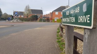 Mountbatten Drive in Old Catton, Norwich