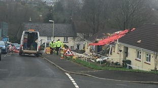 Two injured in Buckfastleigh gas explosion