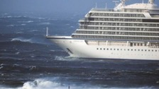 Rescue operation as cruise ship with 1,300 on board issues mayday