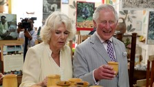 Charles and Camilla have golden ticket to visit chocolate factory