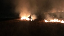 Moorland fire on Winter Hill extinguished by firefighters using specialist wildfire equipment