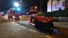 Five people including toddler injured in Birmingham crash